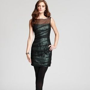 Shila Bis Sequined Cocktail Dress